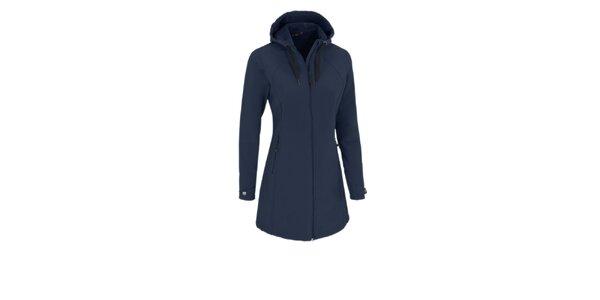 Dámský tmavě modrý softshellový kabátek Maier s membránou