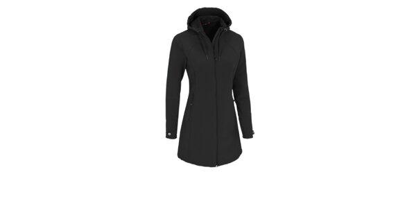Dámský černý softshellový kabátek Maier s membránou