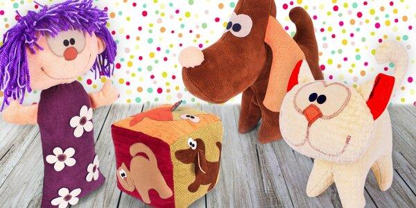 Ručně šité hračky nebo polštářky do pokojíčků