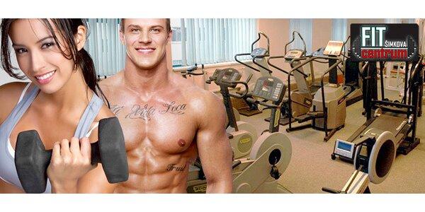 1 vstup nebo permanentka na 10 vstupů do fitness