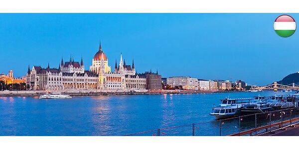 Víkend v Budapešti. Doprava, ubytování i snídaně