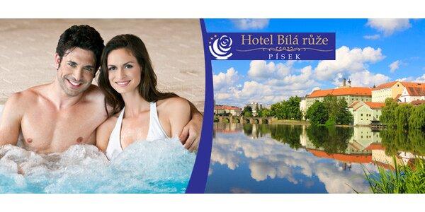 Velká romantika pro dva Hotelu Bílá růže