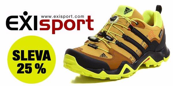 25% sleva na nákup obuvi značky Adidas