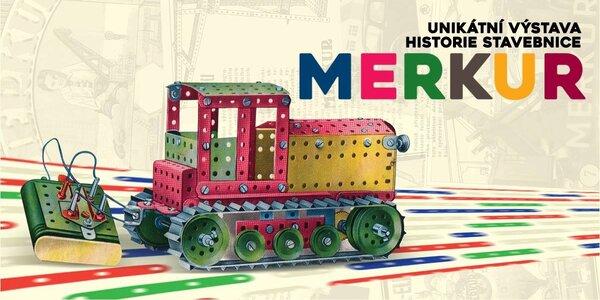 Rodinné vstupné na výstavu stavebnice Merkur