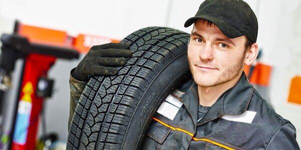 Přezutí pneumatik včetně vyvážení přímo u IKEA Brno