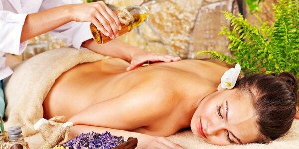 Relaxační a ozdravné masáže dle výběru