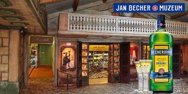 Prohlídka Muzea a výrobny Becherovky