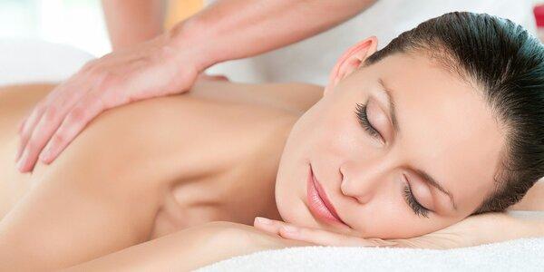 Výběr ze 4 relaxačních masáží ve Studiu Styl