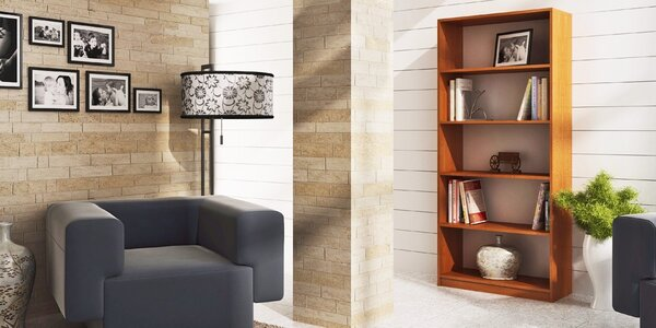 Knihovny Möbler – jednoduchý a čistý design