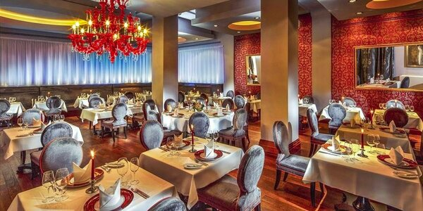 5chodové degustační menu v Le Grill