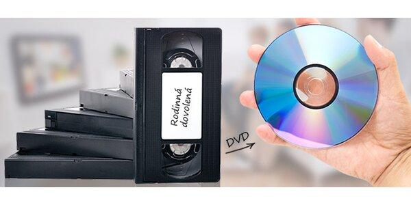 Převod VHS kazet či jiných druhů na DVD
