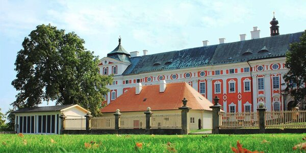 Netradiční ubytování v klášteře u Adršpachu