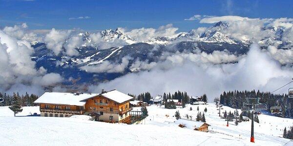 Lyžovačka v Ski Amadé - doprava, ubytování, polopenze