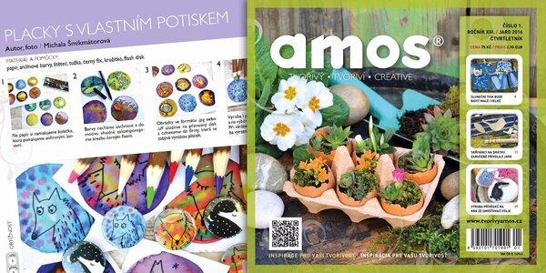 Předplatné tvořivého časopisu Creative Amos