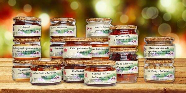 Medové dobroty pro sladší život