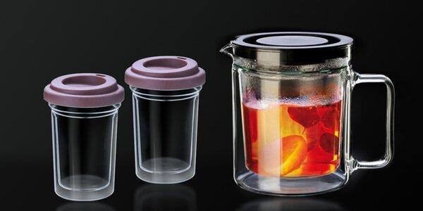 Praktické nádobí z varného skla Simax