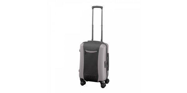 Šedý kufr Esprit malý