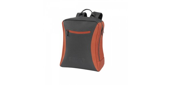 Šedo-oranžový batoh Esprit