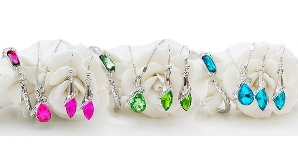 Elegantní sady šperků Swarovski Elements