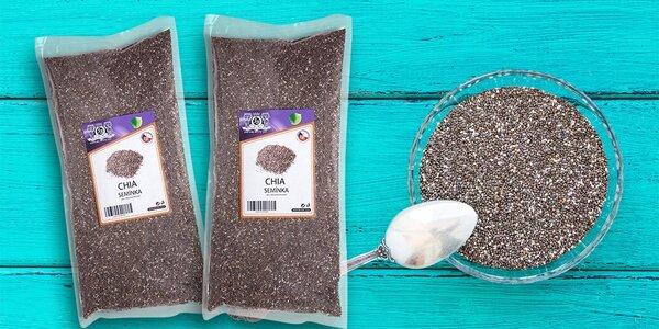 1 kg superzdravých chia semínek pro povzbuzení mozku i krásu pleti