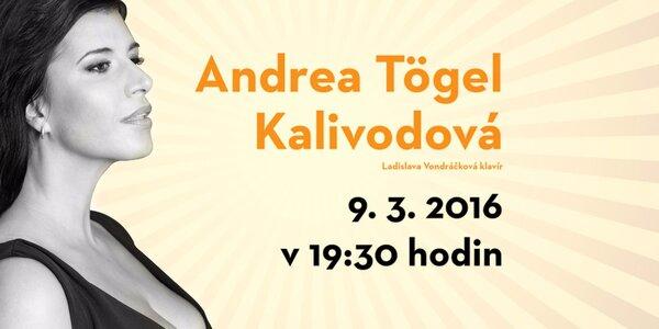 Vstupenka na koncert Andrey Tögel Kalivodové
