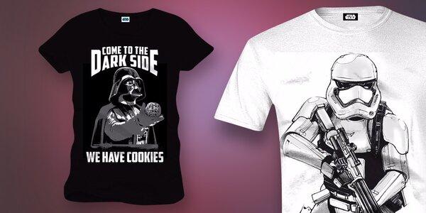 Parádní trička z oficiální kolekce Star Wars