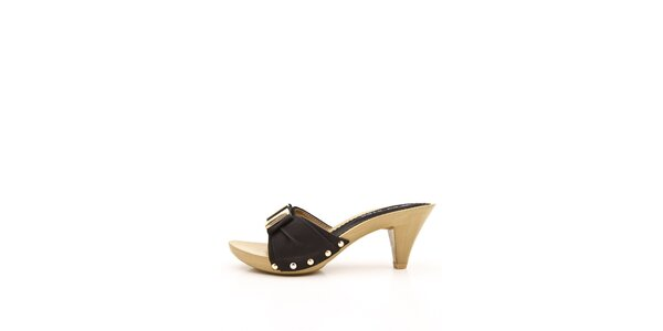 Dámské černé pantofle Boaime