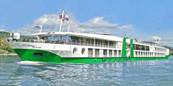 6denní plavba po Dunaji na palubě luxusní lodi