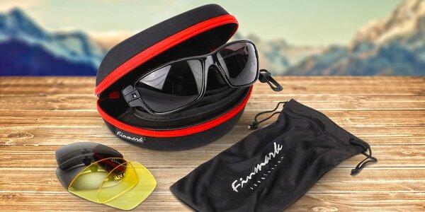 f930e704bf1 Sportovní sluneční brýle Finmark včetně pouzdra
