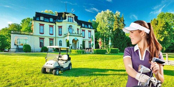 Třídenní Intenzivní kurz golfu s plnou penzí