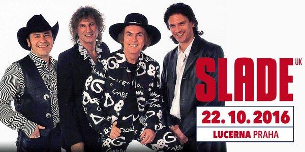 Legendární kapela Slade zahraje v Lucerně