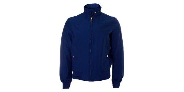 Pánská tmavě modrá jarní bunda Refrigue