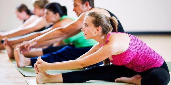 Lekce pomalé i dynamické jógy ve studiu Anjali
