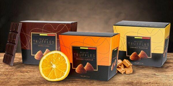 Belgická čokoláda – truffle i pořádně hořká