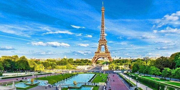 Letecký zájezd do letní Paříže s průvodcem