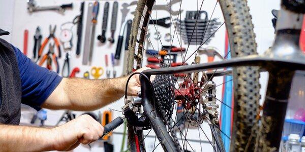 Špičkový servis kol v BB Cyklosport Popůvky