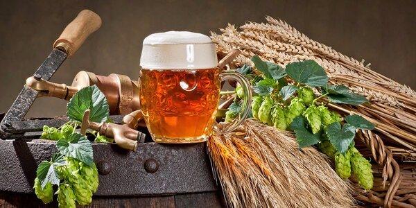 Jednodenní kurz vaření piva v pivovárku Melichárek