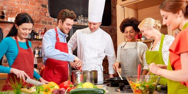 Speciální kurz vaření v hodnotě 2000 Kč
