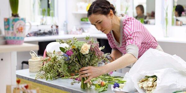 Velikonoční floristický kurz v Carmen Flora