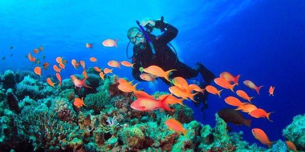 Kurz potápění pro úplné začátečníky pod vedením zkušených instruktorů
