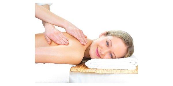 Relaxační masáž šíje a zad