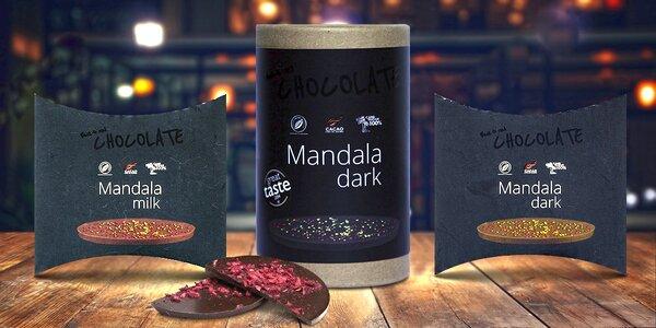 Exkluzivní čokoláda Lyra Mandala