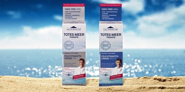 Salthause – krém se solí z Mrtvého moře