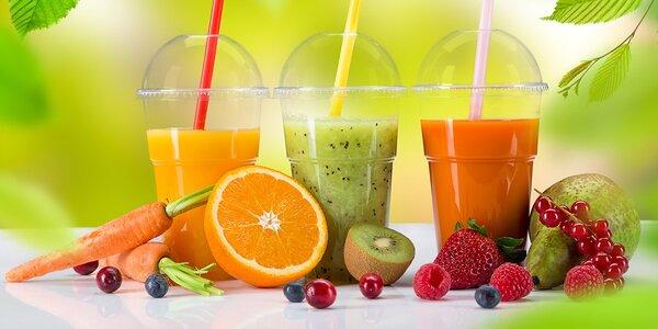 Velký fresh nápoj dle výběru v Juice queens