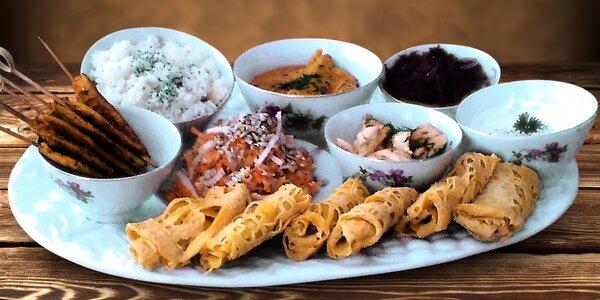 9chodové degustační menu s vůní Malajsie