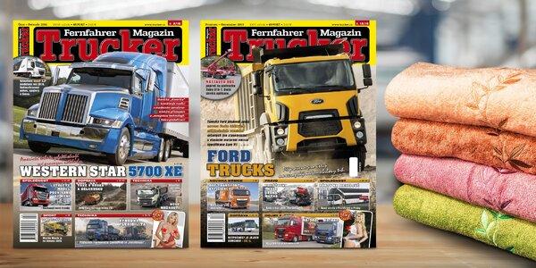 Roční předplatné časopisu Trucker + dárek