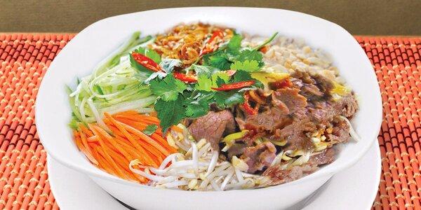 Pho a další vietnamské dobroty pro dva v Sapa
