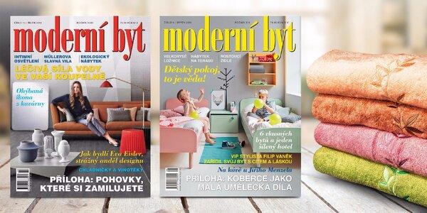Předplatné časopisu Moderní byt + dárek