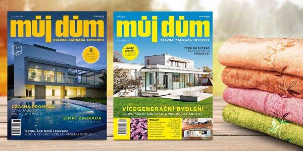 Roční předplatné časopisu Můj dům vč. online verze + dárek