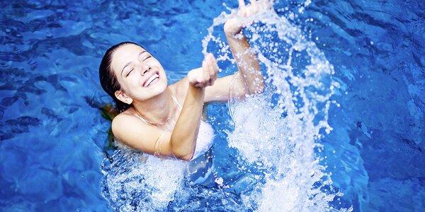 Šetrné cvičení ve slané vodě s lektorkou